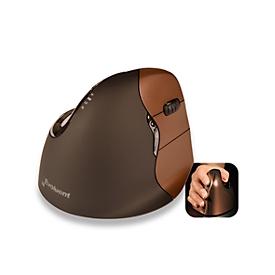Verticale muis Evoluent4 Small Wireless, voor rechtshandigen