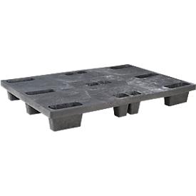 Vierwege-Stapelpalette, 800 x 1200 mm, 5 Stück
