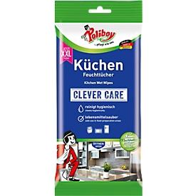 Vochtige doekjes keuken POLIBOY, verdeelbaar XXL-formaat, zonder strepen, veilig voor voedsel, 24 stuks