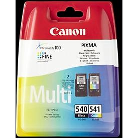 Voordeelpakket 2 stuks Canon inktcartridge PG-540/CL-541 zwart/color