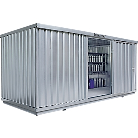 Vrijstaande container SAFE TANK 1700, voor passieve opslag