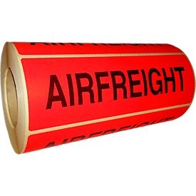 Waarschuwingsetiketten Airfreight, 500 st.