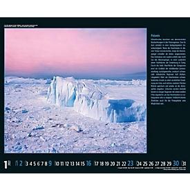 Wandkalender Save our World, B 440 x H 360 mm, für Werbedruck, Auswahl Werbeanbringung erforderlich