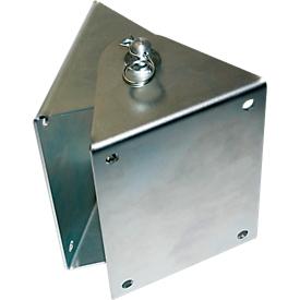 Wandkonsole, für Schlauchaufroller Öl und Diesel, 120 Grad Schwenkbereich