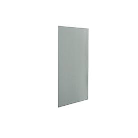 Wandpaneel Easy Top, stof, B 1200 mm, grijs