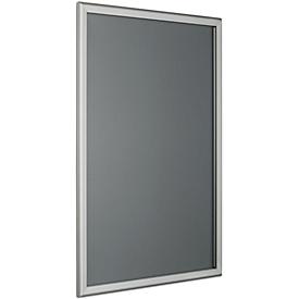 Wechselrahmen, spitze Ecken, silber eloxiertes Aluminiumprofil, DIN A4, 210 x 297mm