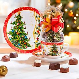 Weihnachtskaffee-Set, 4-tlg.