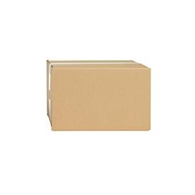Wellpapp-Faltkartons, 1-wellig, 215 x 155 x 135 mm, braun