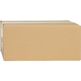 Wellpapp-Faltkartons, 1-wellig, 325 x 230 x 160 mm, braun