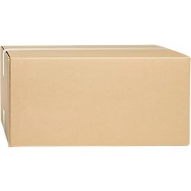 Wellpapp-Faltkartons, 2-wellig, 430 x 300 x 200 mm