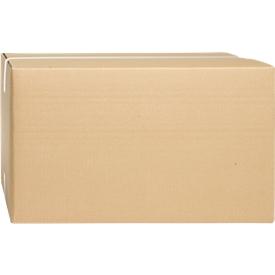 Wellpapp-Faltkartons, 2-wellig, 440 x 310 x 250 mm