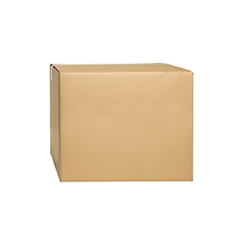 Wellpapp-Faltkartons, 2-wellig, 500 x 500 x 400 mm