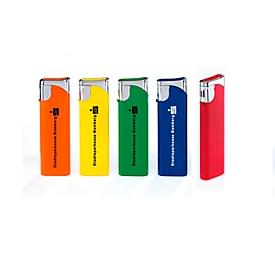 Werbe-Set Feuerzeuge Slim, 400-tlg., inkl. Druck, Bunt, Standard, Auswahl Werbeanbringung optional