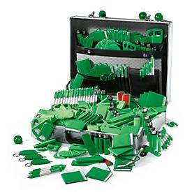 Werbekoffer, 501-tlg - inkl. Druck, grün