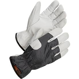 Werkhandschoenen Worksafe A 10-111W, CE Cat 1, geitenleer/polyester, maat 9, 12 paar