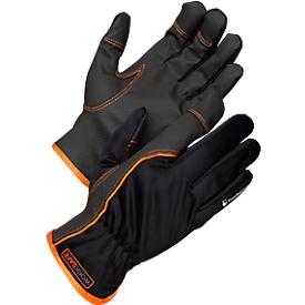 Werkhandschoenen Worksafe A100PUC, CE Cat 1, polyester/PU, geschikt voor touchscreens, maat 9, 12 paar