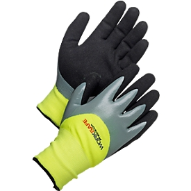 Werkhandschoenen Worksafe P30-120W, CE Cat 2, acryl/nitril, waterdicht, maat 10, 6 paar