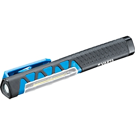 Werklamp VARTA Flex Pocket Light, LED COB, 110 lm, 2 lichtmodi, magnetische haakklem, IPX 4, zwart