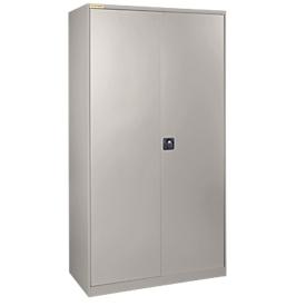 Werkplaatskast LP 90 met 30 bakken LF531, blank aluminium RAL 9006/blank aluminium RAL 9006