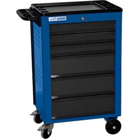 Werkplaatswagen BASIC, 6 schuifladen, blauw