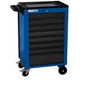 Werkstattwagen BASIC, 8 Schubladen, blau