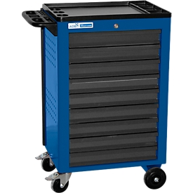 Werkstattwagen BASIC, 9 Schubladen, blau