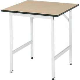 Werktafel, MDF-plaat, 750 x 800 x 800-850 mm