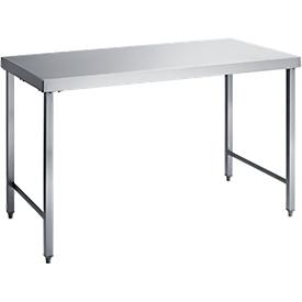Werktafel, rvs, 1200 x 700 x 850 mm