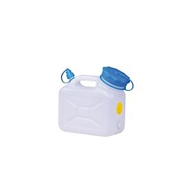 Wijdhals-jerrycan, 5 liter, naturel