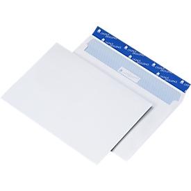 Witte enveloppen C5 (162 x 229 mm), zonder venster, 500 stuks