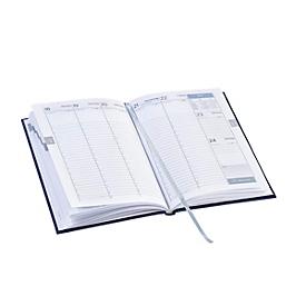 Wochenkalender Vega, 144 Seiten, B 150 x T 13 x H 210 mm, Werbedruck 100 x 80 mm, anthrazit, Auswahl Werbeanbringung optional