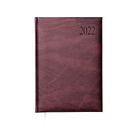 Wochentimer Sidney, 144 Seiten, B 150 x H 210 mm, Werbedruck 100 x 80 mm, dunkelrot, Auswahl Werbeanbringung optional