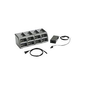 Zebra 8-Slot Battery Charger Kit - Netzteil und Akkuladegerät