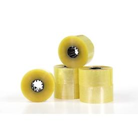 ZeroTape® 400 verpakkingstape, XHT90® kleefstof, 150 strekkende meter, breedte 48 mm, totale dikte 43 µ, transparant