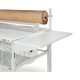 Zijplaat serie TPB, voor inpaktafels serie TPB/TP/TPH, in hoogte verstelbaar 900 mm