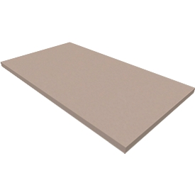 Zócalo SOLUS PLAY, para armarios/puertas batientes SOLUS PLAY, An 800 x P 400 x Al 35mm, gris piedra