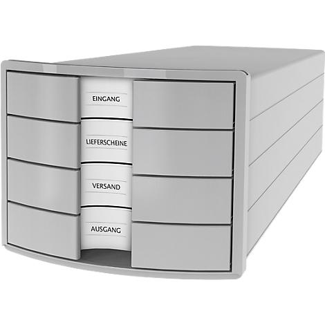 HAN Schubladenbox IMPULS 2.0 4 Schubladen weiß