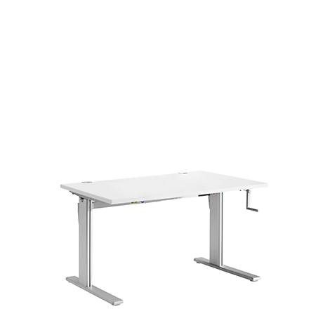 Bureau Assis Debout Table A Manivelle Standard Hauteur Ajustable