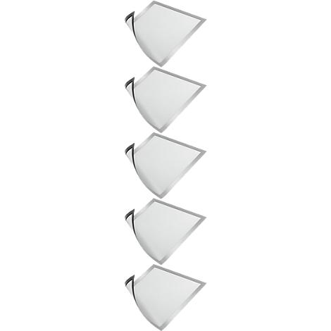 Silber Pour information : en format A4 Durable DURAFRAME Magnetic A4 cadre aimant/é DURAFRAME Magnetic A4 1 pi/èce
