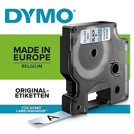 5x Schriftband 40913 Schwarz auf Weiß Schriftbandkassette 9mm x 7m Für DYMO D1