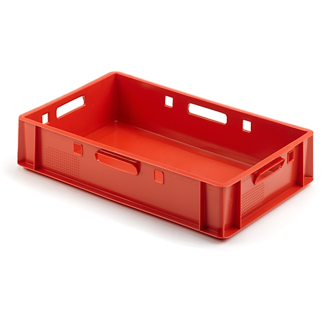 5 piece Euro Butcher Box vorratsbox e3 Box Container Vegetable Crate stabelbar.