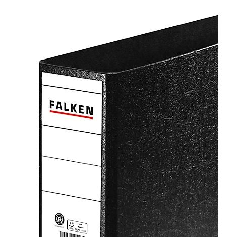 5x Aktenordner DIN A4 schwarz Farbe 75mm breit