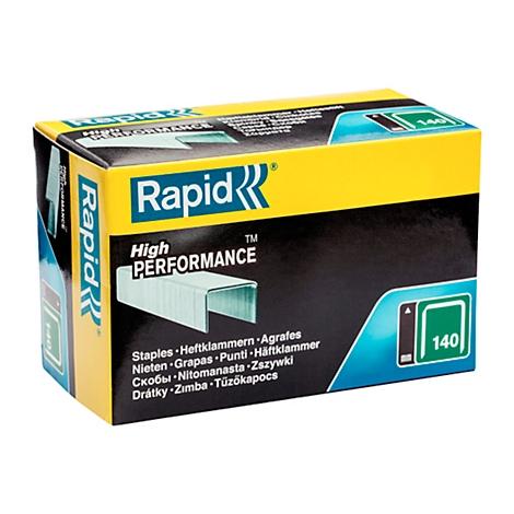 5000 Stück verzinkt Rapid High Performance Heftklammern 13//8mm