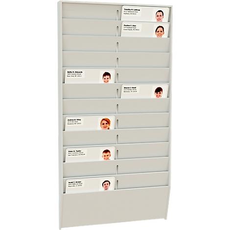 Kartenhalter Wandhalter für Stempelkarten Stempeluhr Stempelkartenhalter