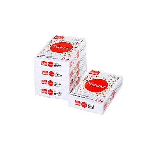 500 Blatt Druckerpapier Papier DIN A4 80g//m² weiß universal duplex