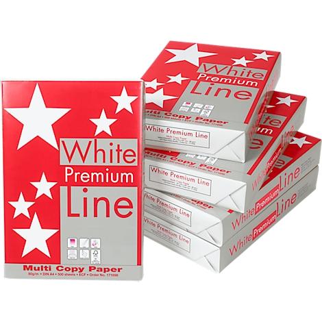 Kopierpapier Standard Papier DIN A4 weiß Druckerpapier