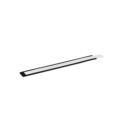Whiteboard Etikettenhalter magnetisch C Etiketten Profil 30 mm Breite inkl