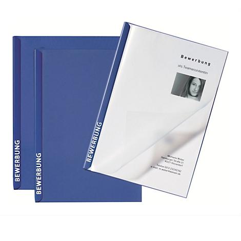 20 Stück schwarze Bewerbungsmappen von Pagna 2-teilig inkl Briefumschlägen