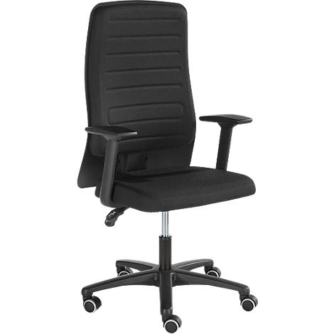 Bureaustoel Vaste Poten.Prosedia Eccon Plus 3 Bureaustoel Met Armleuningen Permanent