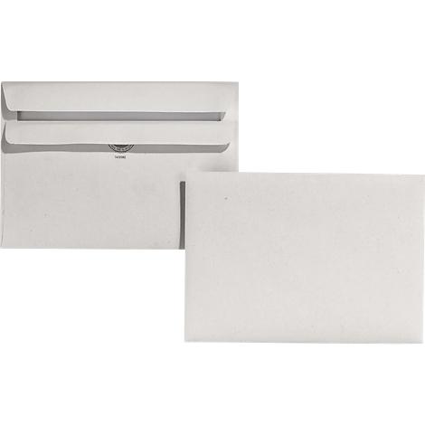 5000 Briefumschläge C6 ohne Fenster 114 x 162 mm selbstklebend weiß 75g//qm